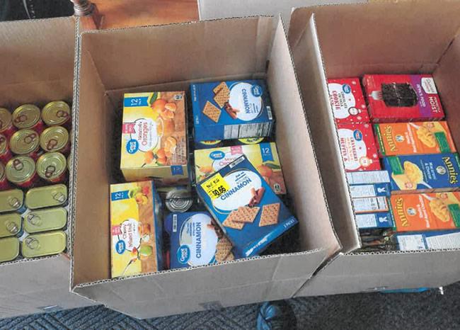 2020 Food Bank Donation